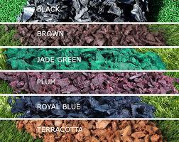 rubber bark in various colours